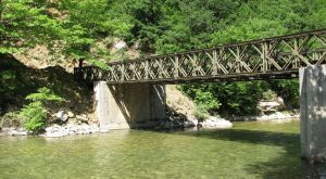 """Γέφυρα Μπέλεϋ: Ένα σιδερένιο """"Lego"""" στην Ελλάδα"""